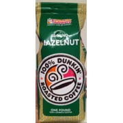 Dunkin Donuts Ground Hazelnut Roasted Coffee: Calories, Nutrition Analysis & More   Fooducate