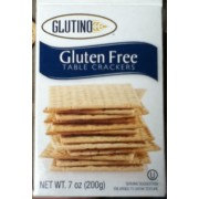 Glutino Gluten Free Table Crackers: Calories, Nutrition Analysis ...