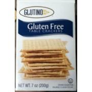 Glutino Gluten Free Table Crackers: Calories, Nutrition Analysis ...