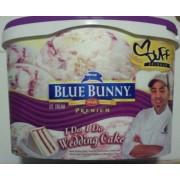 Blue Bunny Ice Cream Premium Chef Duff I Do I Do Wedding Cake