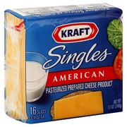 Kraft Cheese Product, Pasteurized Prepared, American ...