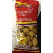 De La Rosa Japanese Cocktail Peanuts: Calories, Nutrition Analysis ...