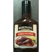 Burman's Kansas City Style Barbecue Sauce is on Fooducate