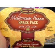 Trader Joe's Hummus Snack Pack with Pita Chips: Calories, Nutrition Analysis & More | Fooducate