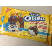 Nabisco Oreo Golden Fudge Cremes With Birthday Cake Calories