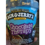 Ben & Jerry's Chocolate Therapy Ice Cream: Calories, Nutrition ...