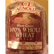 Arnold Bread, Whole Grains, 100% Whole