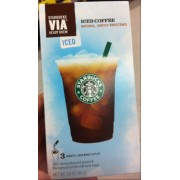 Starbucks Via Lightly Sweetened Iced