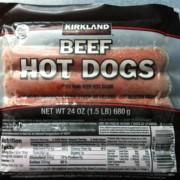 Costco Kirkland Hot Dog Nutrition