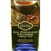 Photo Of Private Selection Acai Pomegranate Blueberry Green Tea