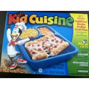 Kid Cuisine KC's Primo Pepperoni Double Stuffed Crust Pizza: Calories, Nutrition Analysis & More ...
