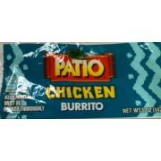 Patio Chicken Burrito