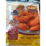 Photo Of Pilgrim S Blazin Wings Breaded Chicken Wing Sections