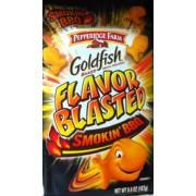 Pepperidge Farm Goldfish Baked Snack Crackers (Flavor Blasted Smokin' BBQ): Calories, Nutrition ...