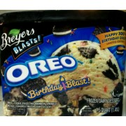 Breyers Oreo Birthday Blast Ice Cream