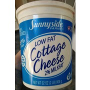 Photo Of Sunnyside Farms 2% Milkfat Lowfat Cottage Cheese