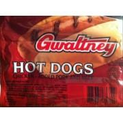 Gwaltney Chicken Hot Dogs Nutrition