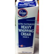 Kroger Ultra-Pasterurized Heavy Whipping Cream: Calories ... Kroger Whipping Cream