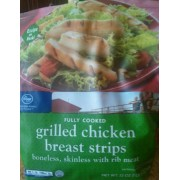 Kroger Fully Cooked Grilled Chicken Breast Strips Calories Nutrition Analysis Amp More Fooducate