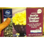 Kroger Movie Theater Er Popcorn Nutrition