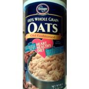 Kroger Old Fashioned Oats Nutrition