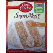 Super Moist Cake Mix Nutrition