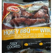 Tyson Honey Bbq Flavored Chicken Wings Calories Nutrition Analysis Amp More Fooducate