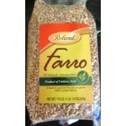 Roland Semi Pearled Farro: Calories