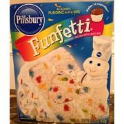 Pillsbury Funfetti Cake Mix Calories