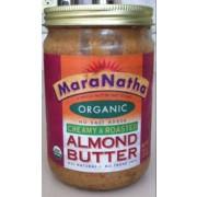 Maranatha roasted almond butter