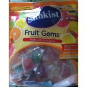 Sunkist Fruit Gems. nutrition ...