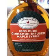 how to make cinnamon infused maple syrup