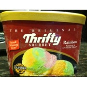 Ice Cream Frozen Yogurt Photo Of Thrifty Rainbow Sherbet