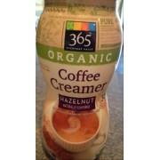 365 Everyday Value Organic Hazelnut Coffee Creamer