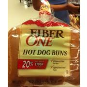 fiber one hot dog buns calories nutrition analysis more fooducate. Black Bedroom Furniture Sets. Home Design Ideas