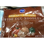 Kroger Whole Wheat Wide Egg Noodles: Calories, Nutrition Analysis ...