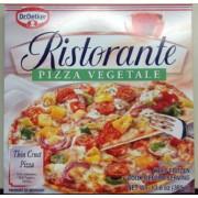 dr oetker ristorante vegetable pizza calories nutrition. Black Bedroom Furniture Sets. Home Design Ideas