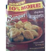 Banquet Chicken Nuggets. nutrition grade C