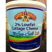 Land O'Lakes 2% Lowfat Cottage Cheese Made With Sea Salt