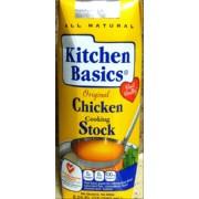 Kitchen Basics Original Chicken Cooking Stock Calories Nutrition