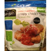 Gardein Zesty Marinara Crispy Chick N Fillets Calories Nutrition Analysis Amp More Fooducate