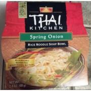 Thai Kitchen Spring Onion Soup Nutrition