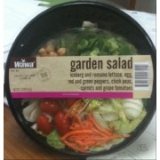 Wawa Garden Salad: Calories, Nutrition Analysis & More | Fooducate
