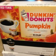 Dunkin Donuts Syrup Nutrition