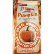 dunkin donuts pumpkin spice ground coffee nutrition