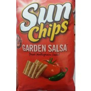 Sun Chips Garden Salsa Flavored Multigrain Snacks Calories Nutrition Analysis More Fooducate