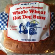 trader joe 39 s 100 stone ground whole wheat hot dog buns calories nutrition analysis more. Black Bedroom Furniture Sets. Home Design Ideas