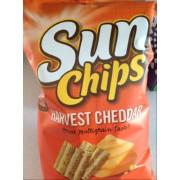sun chips multigrain snacks harvest cheddar calories nutrition