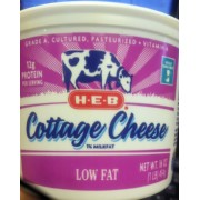 Nice H E B Lowfat Cottage Cheese