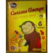 Kroger Curious George Fruit Flavored Snacks: Calories ...